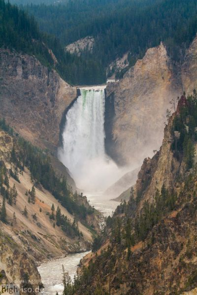 Wasserfall am Grand Canyon of Yellowstone